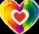 Ein buntes HelloBABY-Herz